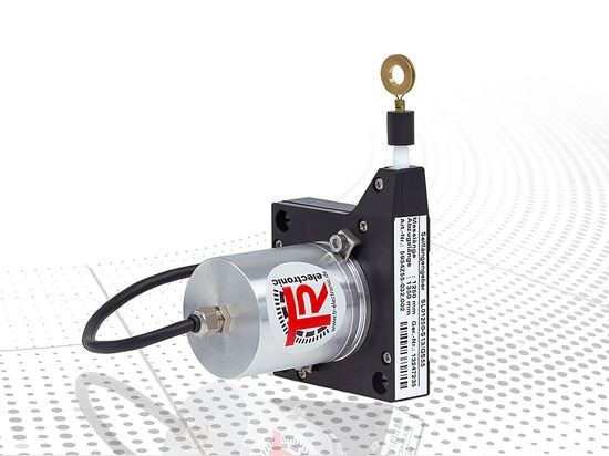 Compact wire-actuated encoder for basic applications