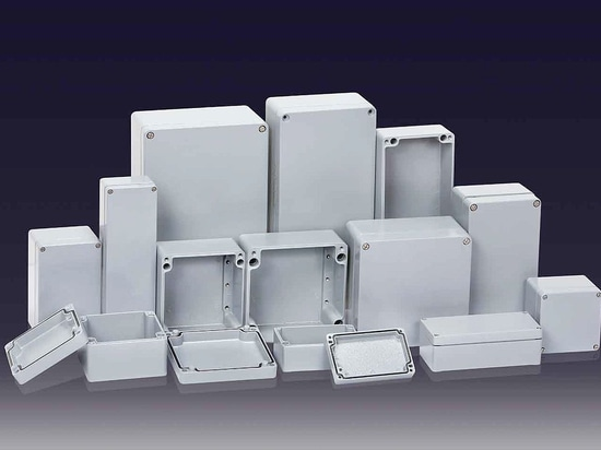 IP66/67 Aluminium enclosures suited to electrical and electronic components