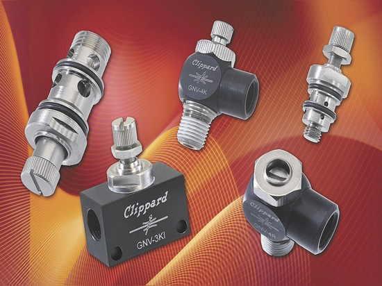 Clippard GNV Series Needle Valves Now Available !