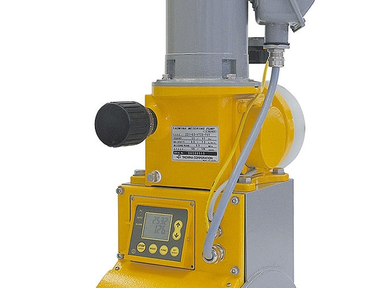 Automatic flow rate correction metering pump MDiA Series, Max.420 L/h