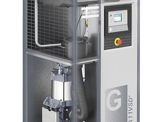 GA Atlas Copco VSD + series brings the advantages of a completely new desig