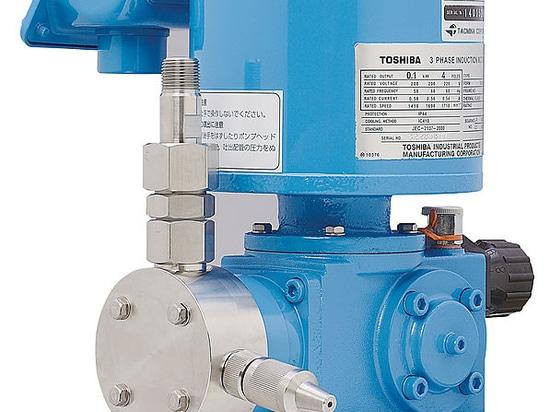 Motor-Driven Metering Pumps F Series, Max. 1800 L/h