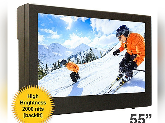 """55"""" High Bright LG PDS Enclosure – Safeguarding Your LG High Bright Screen Year-After-Year"""