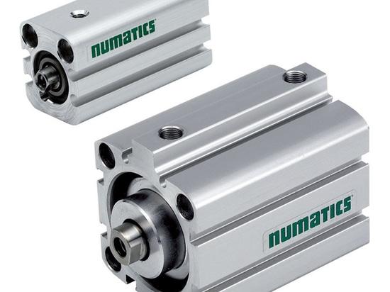 Short-stroke air cylinders