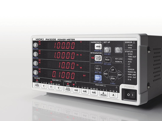 Hioki Launches Power Meter PW3335 with Compliance to IEC62301 for Standby Power