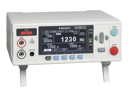 Hioki Launches Insulation Tester ST5520