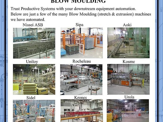 Productive Systems - Automating your blow moulding downstream requirements
