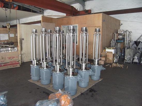 Batch high shear mixer