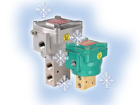 High Flow Pilot Valves for Arctic Conditions