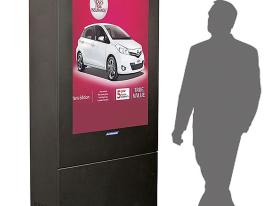 "55"" Outdoor Totem Added To Armagard Digital Signage Enclosure Range"