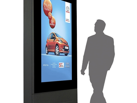 """'All New'' 72"""" Outdoor TV Totem Enclosure Launched by Armagard"""