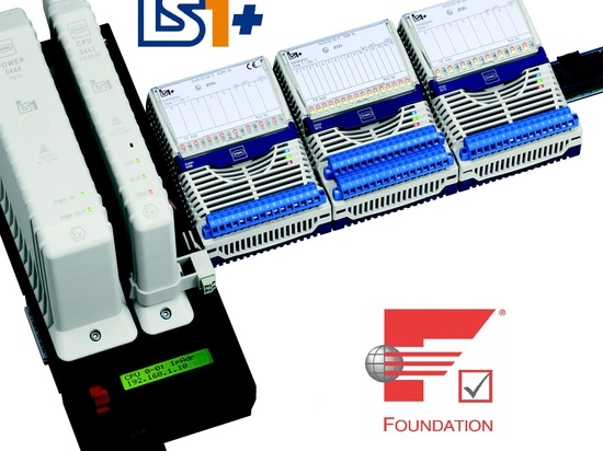 IS1+ remote I/O system communicates with FF HSE
