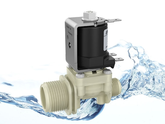 New valve series 27.00x.126: Direct acting valves for hot water