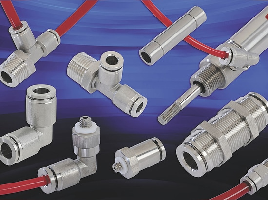 Clippard Stainless Steel Push-Quick Fittings