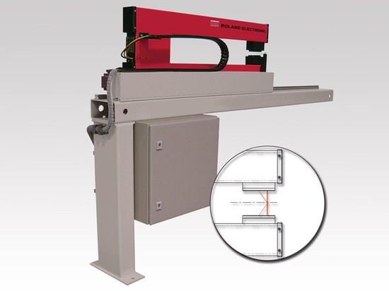 i!mensio Mono - Non-Contact Thickness Gauging System for metal strip, laser based function principle