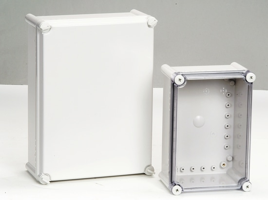 IP66/67 screw lid type electrical boxes