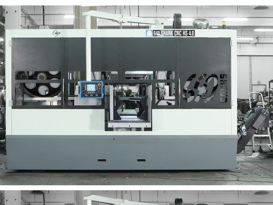 Automatic MEP bandsaw - Shark 660 CNC HS 4.0