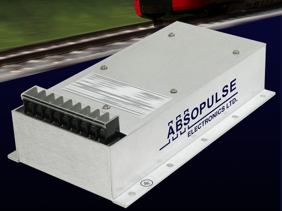 Dual output, encapsulated RIA12 Railway converters offer 3.5Vn surge withstand capacity