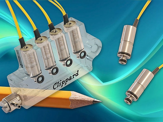 Clippard 7mm 2-Way Normally-Closed Electronic Valves