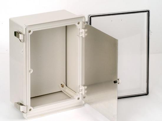 Dual door electric enclosure