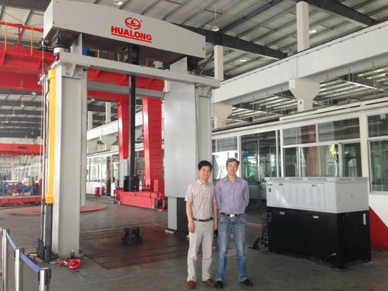 2000kN Dual cylinder loading tensile testing machine