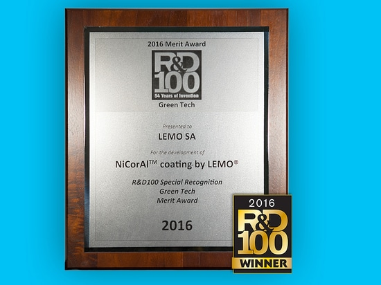 LEMO honored with a R&D 100 Awards by R&D Magazine