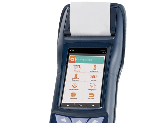 New E6000 SIX Gas Emissions Analyzer