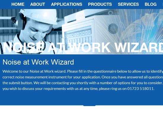 Noise at Work Wizard
