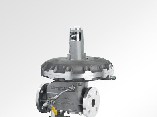gas pressure regulator with inbuilt SSV up to 16 bar - RS254