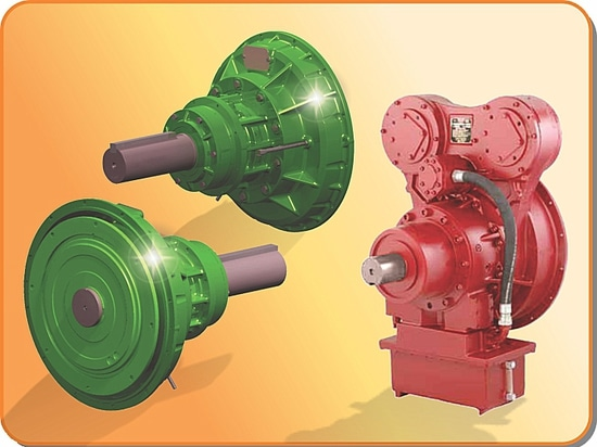 Hydraulically actuated power take-off units (PTOs)