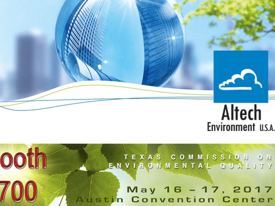 Visit Altech Environment USA in Austin at the TCEQ EFTC 2017