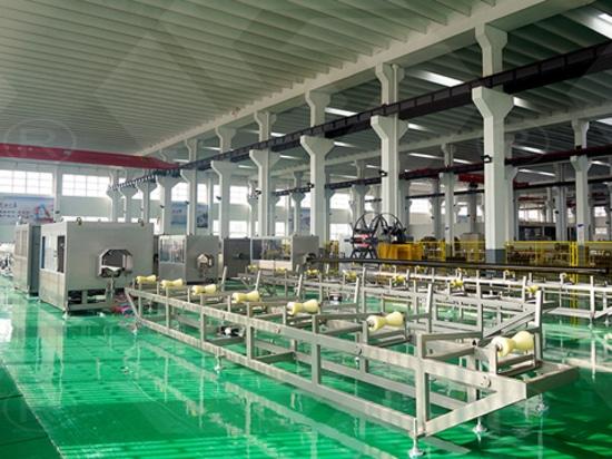 BEIER PIPE EXTRUSION LINE IN JIANGSU JIARUN FACTORY