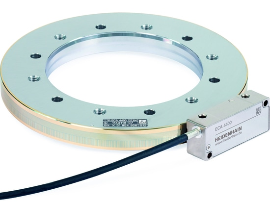 The functional safety version of the ECA 4000 absolute angle encoder
