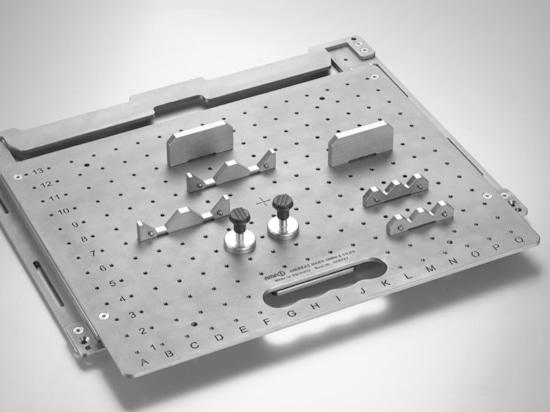 AMF - Positioning system for laser marking