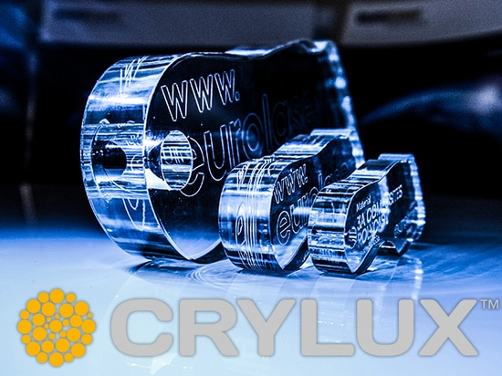 CRYLUX™ from 3A undergoes laser testing