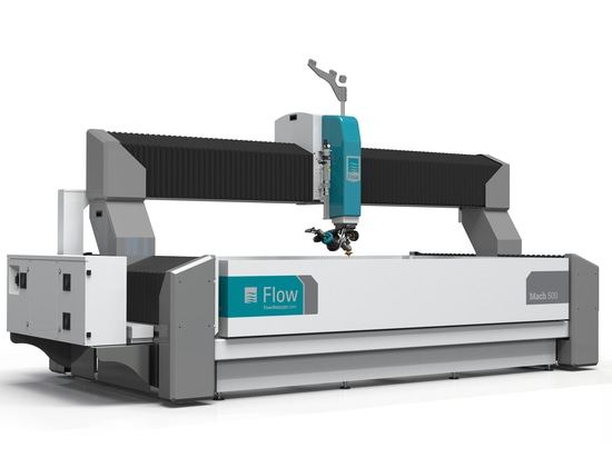 Mach 500 waterjet cutting system from Flow