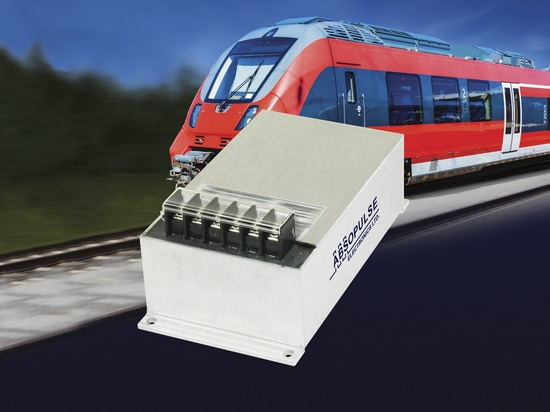 100W, Encapsulated DC-DC converters for RIA12 Railway Applications