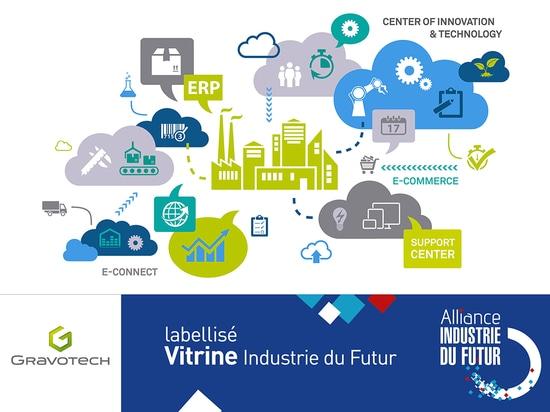 "Gravotech is labellised ""Vitrine Industrie du Futur"""