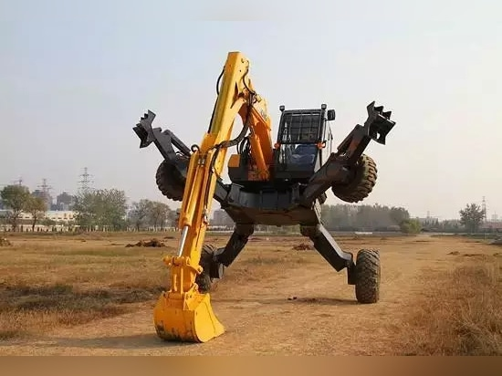 XCMG ET110 walking excavator, China's version of