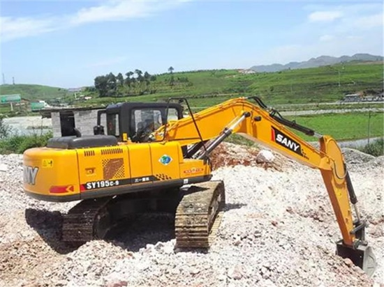 SANY tops the list of brand awareness to Chinese excavator users in the first half of 2017
