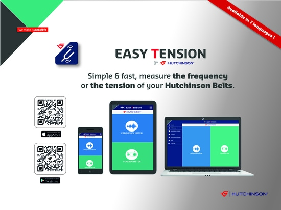 Easy Tension App by Hutchinson