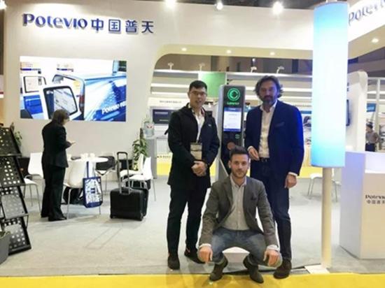 Sicon EV charging station attend the Automechanika Shanghai