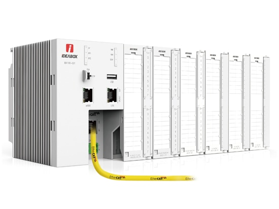 iDEABOX 3 CPU, I/Os & EtherCAT Cable