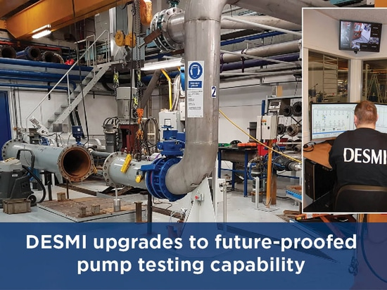 DESMI upgrades to future-proofed pump testing capability