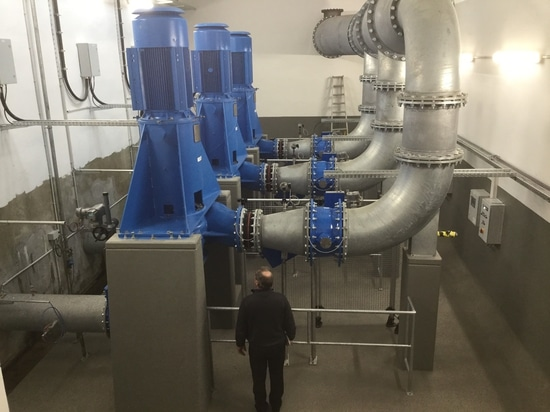 Egger realizes pump technology for LINEG Wastewater Association