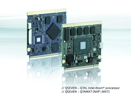 Energy efficient and powerful: Kontron introduces two Qseven Computer-on-Modules (COM)