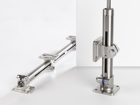 Corrosion-resistant single-tube linear units E-II-stainless