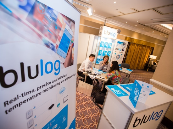 Blulog will present its new BluRoad and low cost NFC loggers at GCCE in Chicago