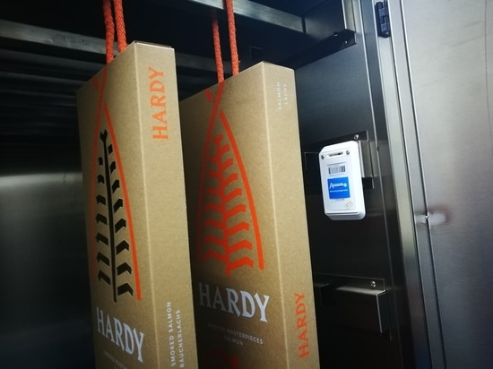 Blulog assures the freshness of smoked salmon in Portugal