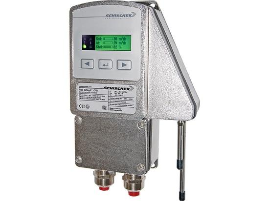 Volume flow (VAV) or pressure controller ExReg-V-OVA in stainless steel